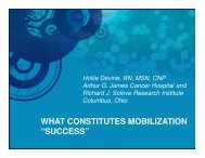 "what constitutes mobilization ""success"" - Educational Concepts Group"