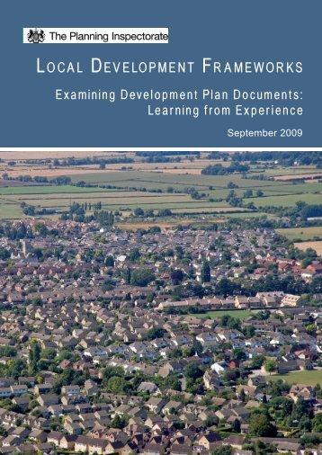 Examining Development Plan Documents ... - Planning Portal