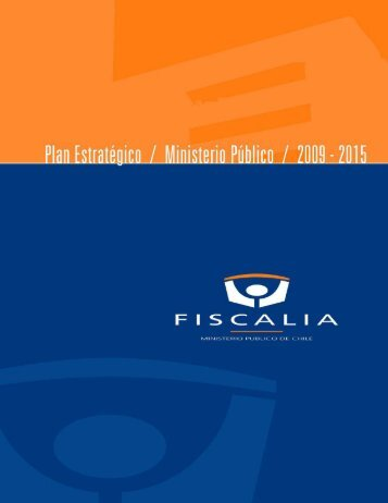 Plan Estratégico Ministerio Público 2009 - 2015