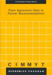From Agronomic Data to Farmer Recommendations - FAO