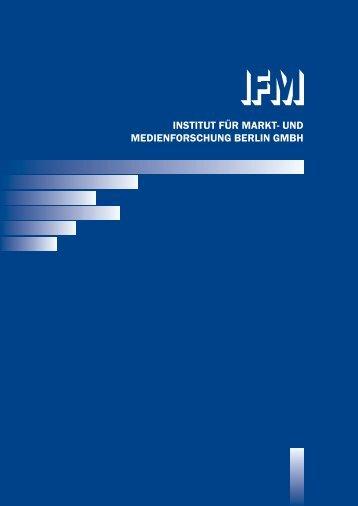 INSTITUT FÜR MARKT- UND MEDIENFORSCHUNG BERLIN GMBH