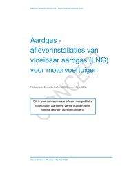 afleverinstallaties van vloeibaar aardgas - Publicatiereeks ...