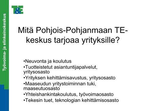 Koronaepidemian vaikutukset Pohjois-Pohjanmaan TE-toimiston asiakaspalveluun