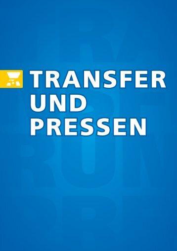 Transfer und Pressen - Schulzeshop.com