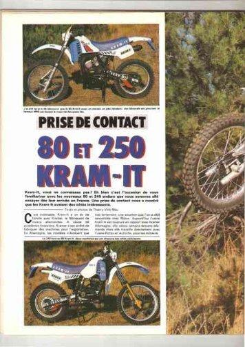 Essais et photos Kram-It - Vintage Aprilia
