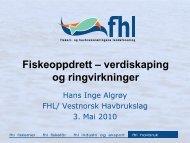 Fiskeoppdrett - verdiskapning og ringvirkninger ... - BluePlanet AS