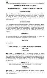Ley Contra El Lavado De Dinero Y Otros Activos - Consejo ...