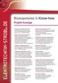 Firmenportrait & Projekte - Elektrotechnik-Strobl - Seite 6