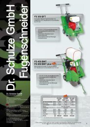 D IE S E L F U G E N S C H N E ID E R - Dr. Schulze GmbH