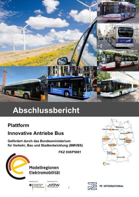 Abschlussbericht Plattform Innovative Antriebe Bus