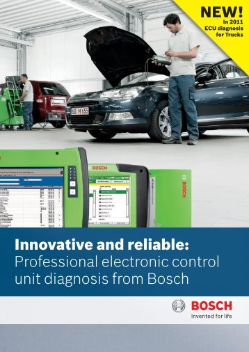 Innovativ and liabl: Professional electronic control unit diagnosis ...