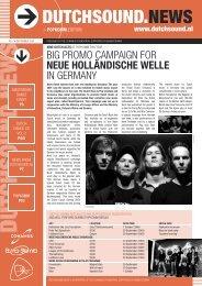 big promo campaign for neue holländische welle in ... - Buma Cultuur