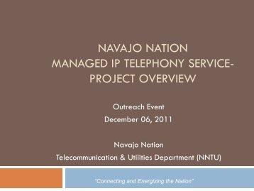 NNTU - Navajo Nation Telecommunications