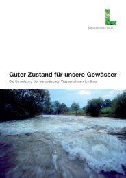 Guter Zustand für unsere Gewässer - Land Oberösterreich