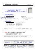Informations - A ngebot - SCHRIEVER & SCHULZ & Co. GmbH - Seite 3