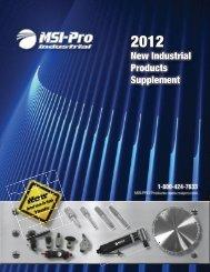2012 MSI-PRO New Product Catalog - Digital Marketing Services