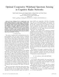 Optimal Cooperative Wideband Spectrum Sensing in Cognitive ...