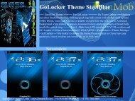GoLocker Theme SteelBlue - RunMob