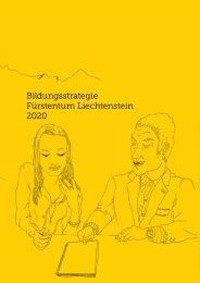Bildungsstrategie Fürstentum Liechtenstein 2020 - Regierung des ...