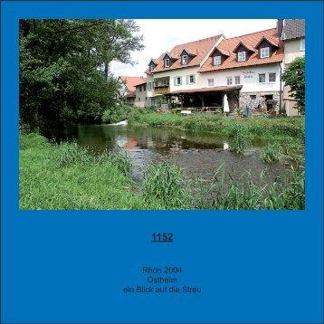 Rhön 2004 Ostheim ein Blick auf die Streu - juergen-und-regina.de