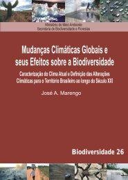Mudanças climáticas globais e seus efeitos sobre a biodiversidade