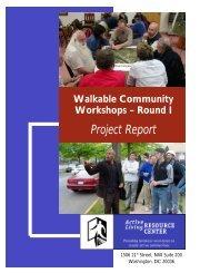 Walkable Community Workshops
