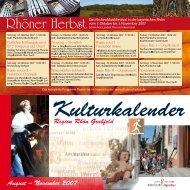 Region Rhön Grabfeld August – November 2007 - Landkreis Rhön ...