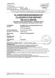 4-1104 Prüfung des Brandverhaltens (A1) nach DIN - Caparol