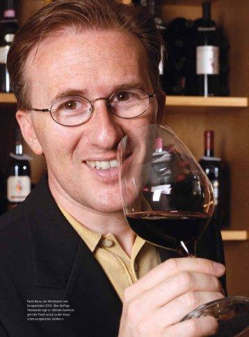 Paolo Basso, der Weinkenner und Europameister ... - ceresiovini.ch