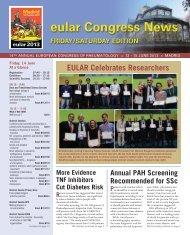 eular_congress_news_.. - EULAR Congress News Preview Edition