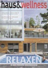haus & wellness« 1 / 2011 - goldornat.de