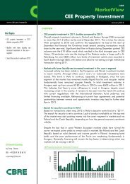 Read more (PDF, 114 KB) - CBRE