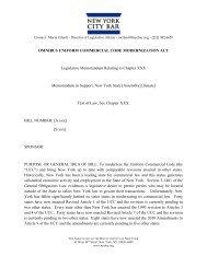 OMNIBUS UNIFORM COMMERCIAL CODE MODERNIZATION ACT ...