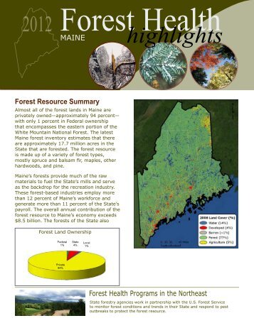 ME - Forest Health Monitoring