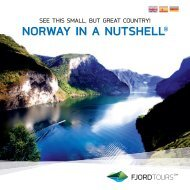 NORWAY IN A NUTSHELL® - Fjord Tours