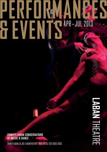 Download our Dance Events Diary (PDF) - Laban