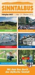1. Mai - 31. Oktober 2012 - Bad Brückenau