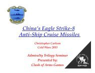 China's Eagle Strike-8 Antiship Cruise Missiles - Clash of Arms