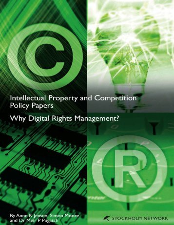 Download Why Digital Rights Management? - The Stockholm Network
