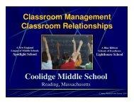 Coolidge Middle School - blueprintinstitute