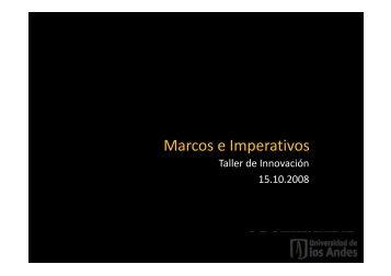 Marcos e Imperativos - designblog