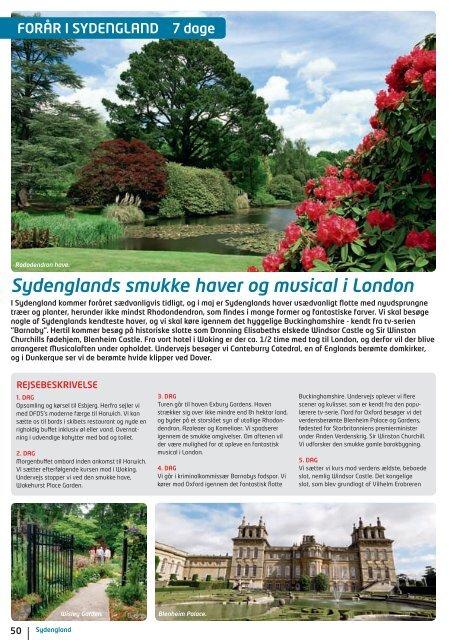Sydenglands smukke haver og musical i London - NILLES REJSER ...