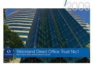 Stockland Direct Office Trust No.1