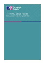 1:10 000 Scale Raster user guide and technical ... - Digimap