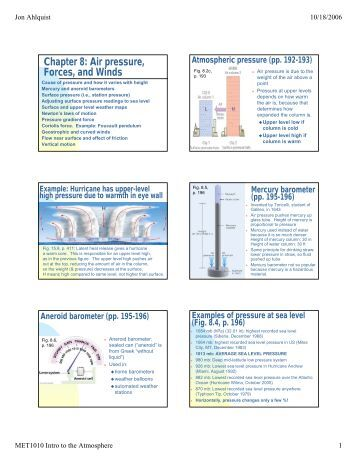 Chapter 19 Air Pressure And Wind Worksheet Answers - The Best and ...