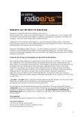 Pressemappe: Radioeins vom rbb feiert 15. Geburtstag - Seite 2