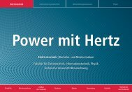 Power mit Hertz - Technische Universität Braunschweig