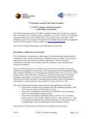 Collaboration Acceleration - UCStrategies.com
