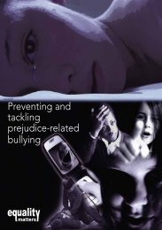 Prejudice-related bullying booklet England - NASUWT