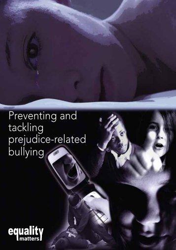Prejudice-related bullying booklet England - NASUWT